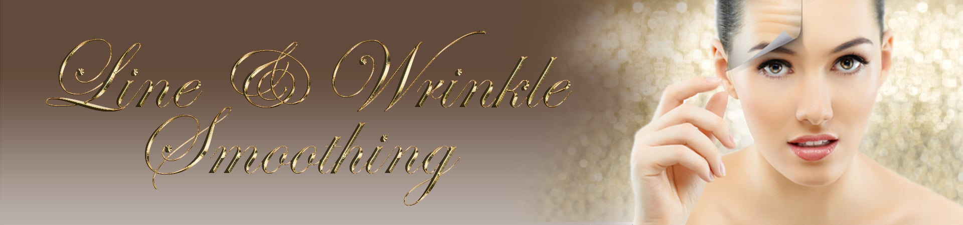Line-wrinkle-smoothing