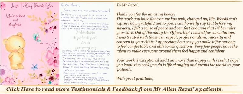 Breast enlargement patient reviews